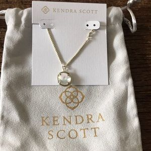 Kendra Scott Dichroic Glass Slider Necklace